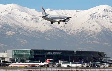 Private taxi service from Turin airport
