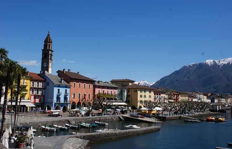 Private Taxi transfer from Linate to Ascona