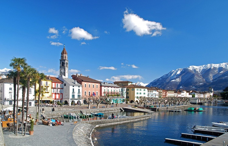 Private Taxi transfer from Turin Airport Caselle to Ascona-Lake Maggiore