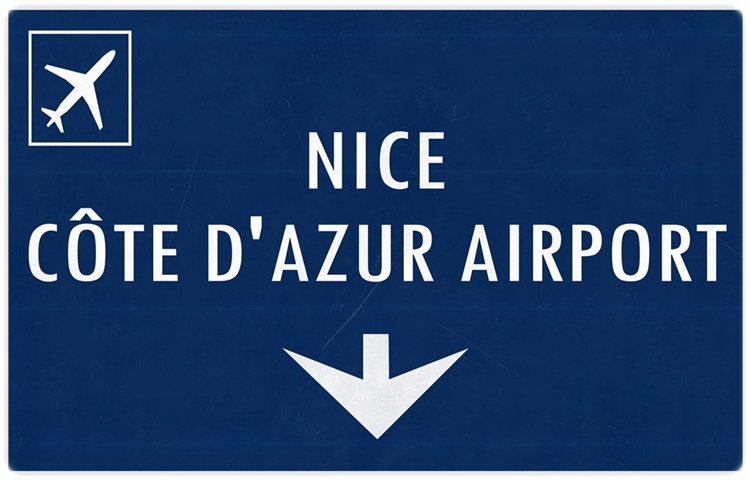 Private Taxi transfer from Lugano City (CH) to Nice Côte d'Azur Airport (F)