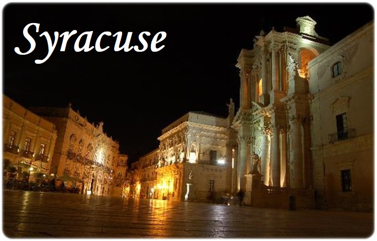 Transfer from Catania Airport Fontanarossa to Syracuse