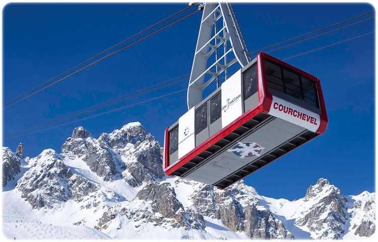 Private Taxi Transfer from to Courchevel (F)