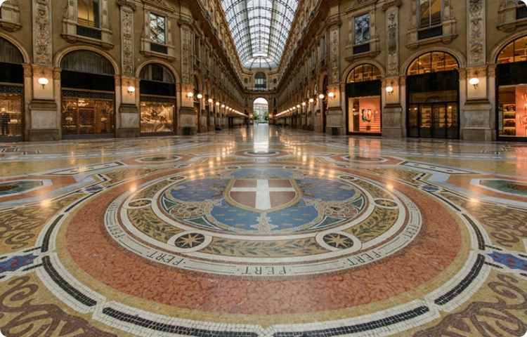 Private Transfer Milan City Gallery Vittorio Emanuele