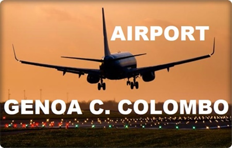 Transfer by private taxi to Genoa C.Colombo Airport