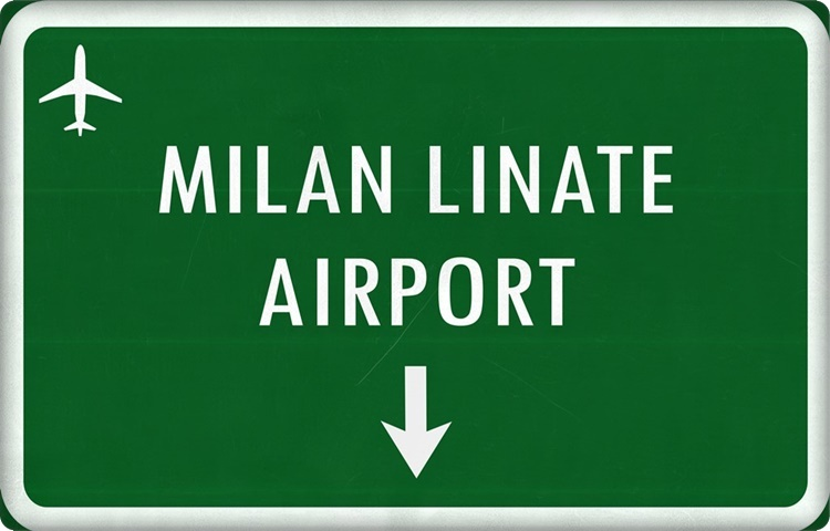 Transfer by private taxi to Milan Linate Airport