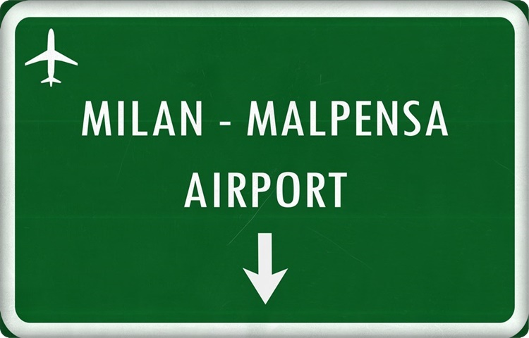 Transfer by private taxi to Milan Malpensa Airport